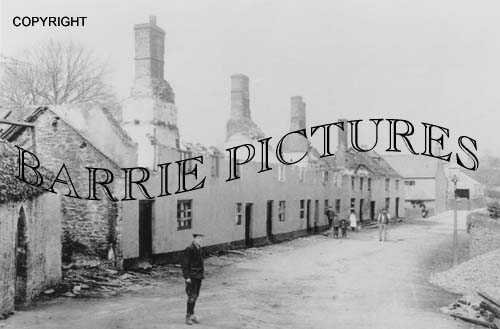 Bishops Lydeard, After the Fire c1910
