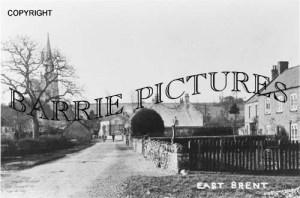 East Brent, Village c1910