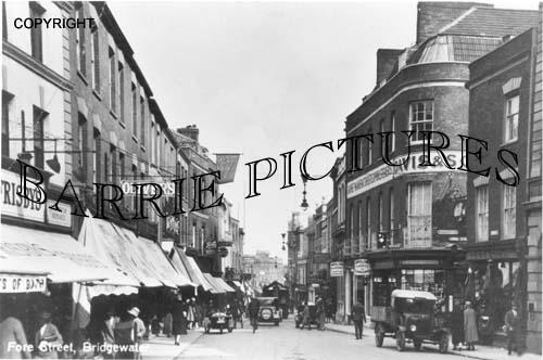 Bridgwater, Fore Street c1940