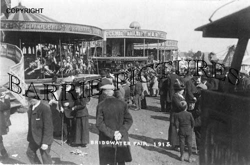 Bridgwater, The Fair 1915