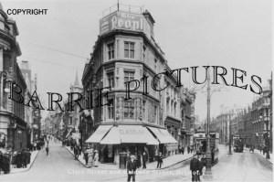 Bristol, Clare Street and Baldwin Street c1910