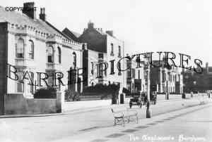 Burnham, The Esplanade c1920