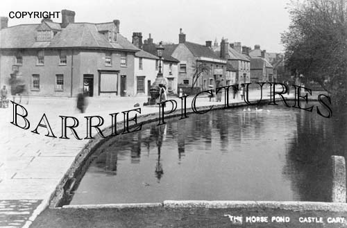 Castle Cary, The Horse Pond c1900