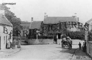 Clutton, Railway Hotel c1900