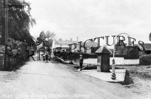 Compton Martin, Post Office Stores c1910