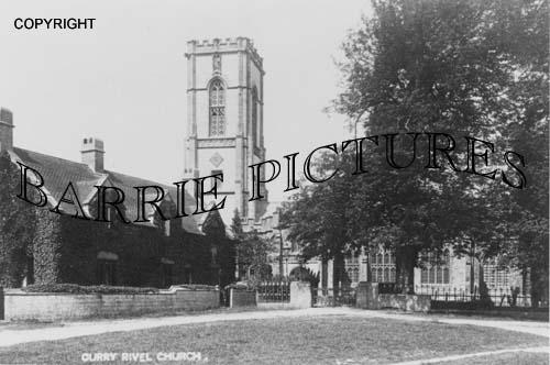 Curry Rivel, Church c1910