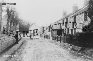 Drayton, Village c1900