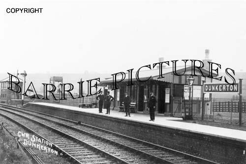Dunkerton, The Station c1910