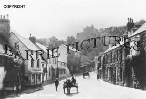 Dunster, Village c1920