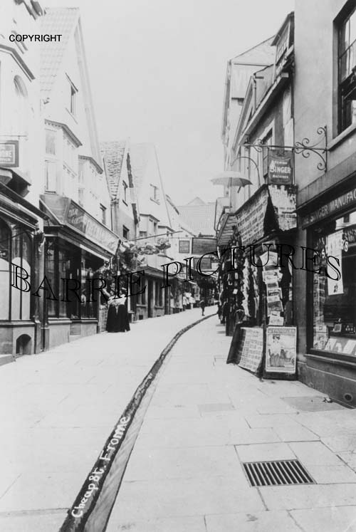 Frome, Cheap Street c1910