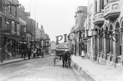 Glastonbury, High Street c1900