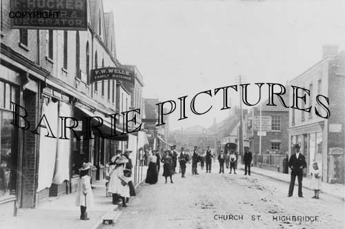 Highbridge, Church Street c1905