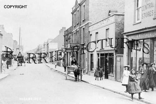 Highbridge, High Street c1905