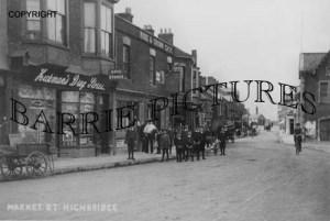 Highbridge, Market Street c1905