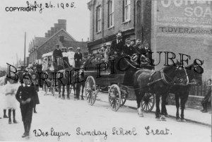 Highbridge, Wesleyan Sunday School Treat 1905