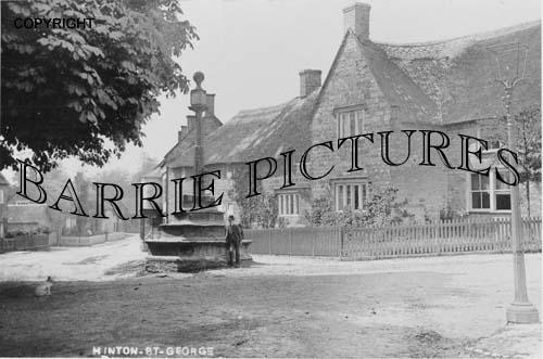 Hinton St George, Village c1910