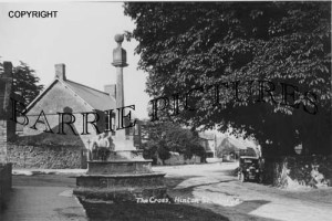 Hinton St George, The Cross c1910