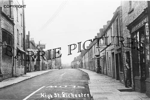 Ilchester, High Street c1920