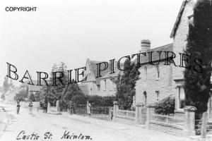 Keinton Mandeville, Castle Street c1900