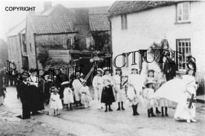 Leigh on Mendip, Village c1920