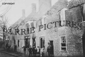 Milborne Port, Ruins Gainsboro Fire c1900