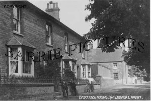 Milborne Port, Station Road c1910