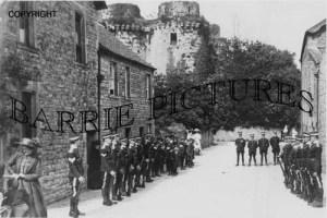 Nunney, Castle c1900