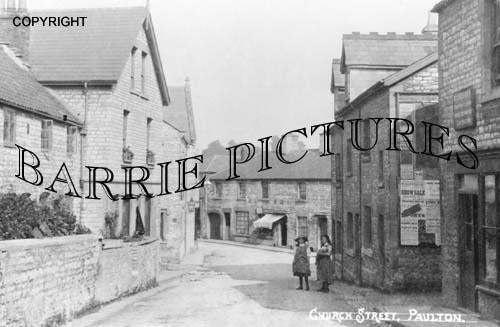 Paulton, Church Street c1910