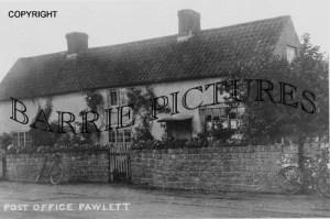 Pawlett, Post Office c1900