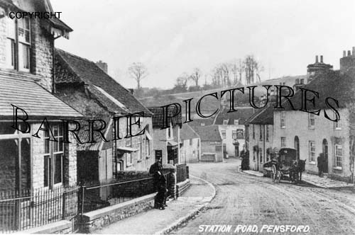 Pensford, Station Road c1900