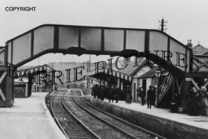 Radstock, Railway Station c1900
