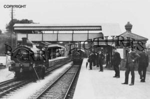 Shepton Mallet, Station c1900