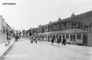 Somerton, Almshouses c1910