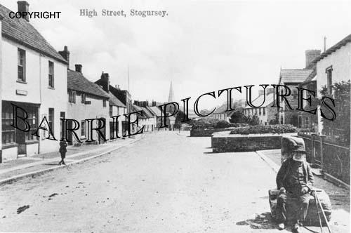 Stogursey, High Street c1900