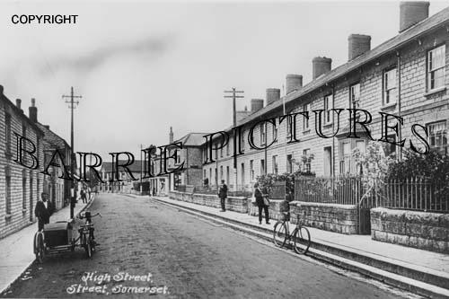 Street, High Street c1930