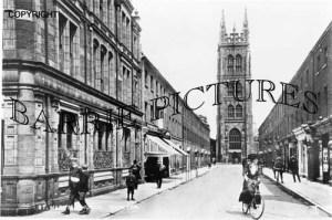 Taunton, St Marys Church c1910