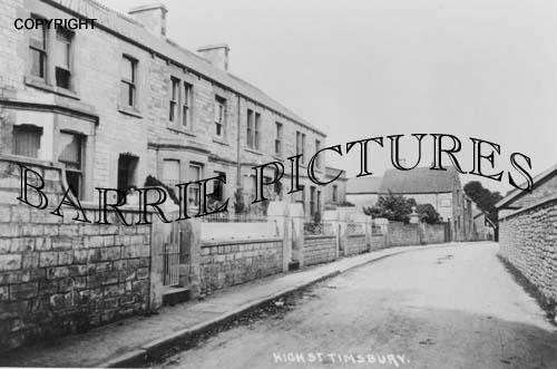 Timsbury, High Street c1910