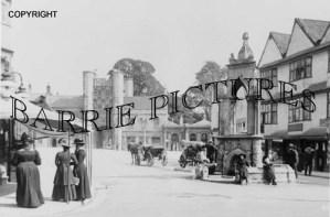 Wells, Market Place c1910