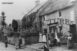 West Chinnock, Village Store c1900