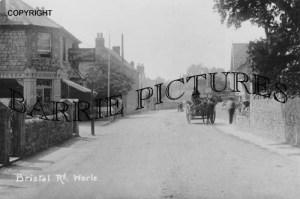 Worle, Bristol Road c1910