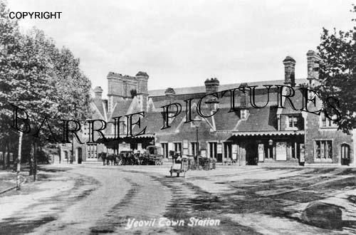 Yeovil, Town Station c1900
