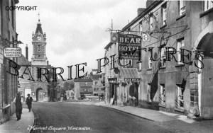 Wincanton, Market Square c1930