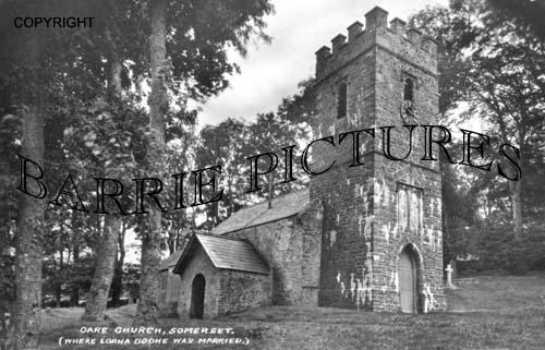 Oare, Church c1940