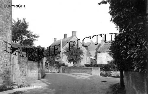 Norton sub Hamdon, Village c1950