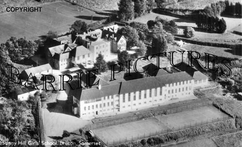 Bruton, Sunnyhill Girls School c1950