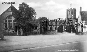 Somerton, The Church c1940