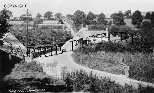 Crowcombe, Flaxpool c1950
