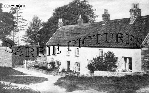 Penscott, Village c1900
