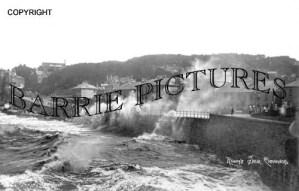 Clevedon, Rough Sea c1920