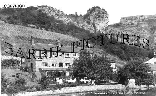 Cheddar, Hillside Cottage 1945
